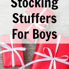 Cool Stocking Stuffers for Boys