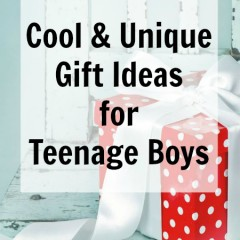 Cool amp unique gift ideas for teenage boys
