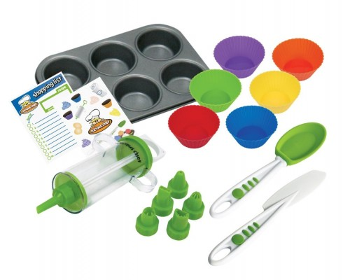 Curious Chef Cupcake Baking Set Gift Idea for Girls 6 7 8