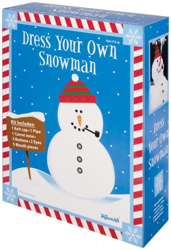 Dress a Snowman Kit Gift Idea for kids