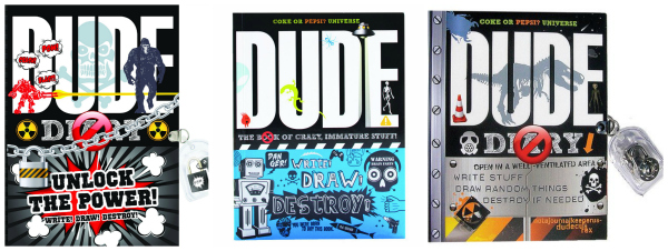 Dude Diary Books for Tween Boys