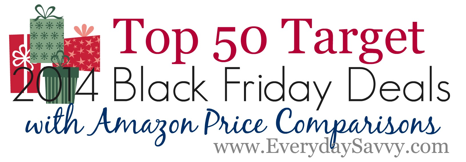Top 50 Target Black Friday Deals and Amazon price comparisons