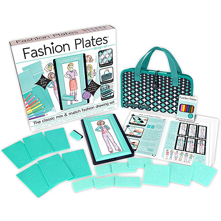 Fashion Plates Gift Idea for Girls 6 7 8