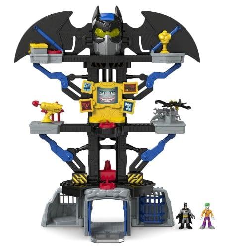 Stunning Fisher Price Imaginext DC Super Friends Transforming Bat Cave