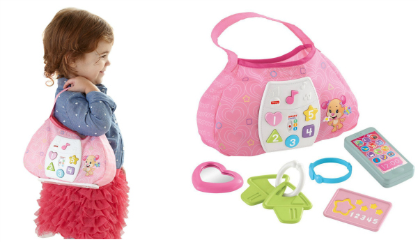 Fisher Price Laugh & Learn Lil Sis Smart Purse