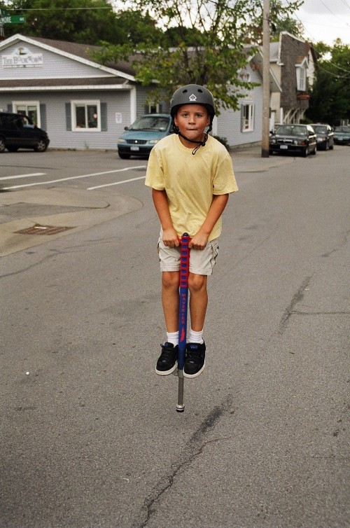 Foam Maverick Pogo Stick Gift idea for kids