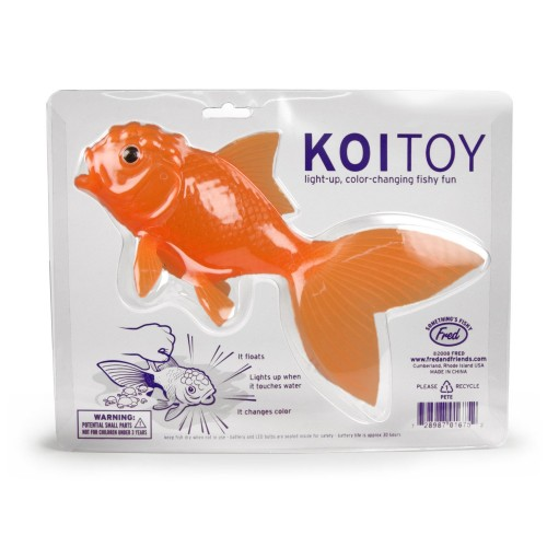 Fred and Friends Koi Toy Stocking Stuffer for Kids