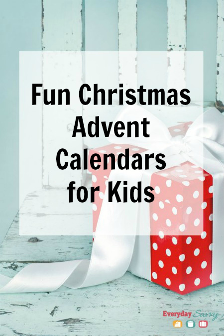 Fun Christmas Advent Calendars for Kids