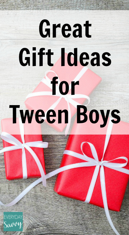 Great Gift Ideas for Tween Boys