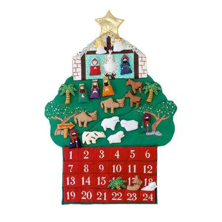 Kubla Crafts Nativity Fabric Advent