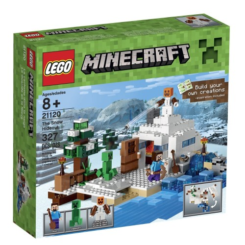 Lego Minecraft 21120 Great Gift Idea for Tween Boys