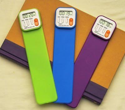 Mark My Time Digital Bookmark