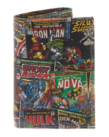 Marvel Comics Leather Trifold Wallet