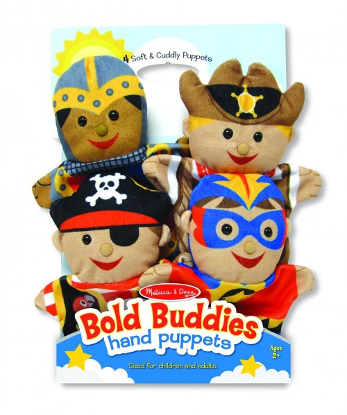 Melissa and Doug Bold Buddies Puppets