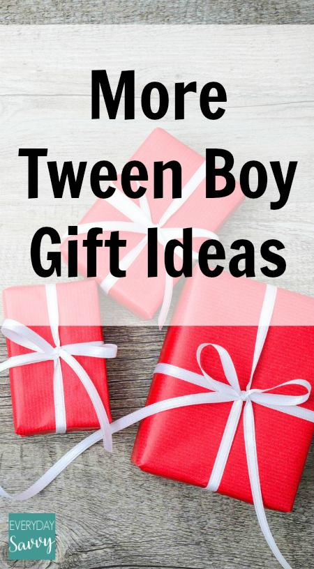 More Tween Boy Gift Ideas