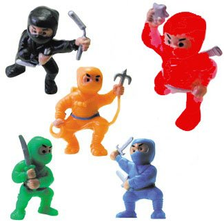 Ninja Figures Stocking Stuffer Idea for Boys