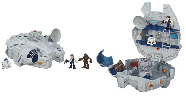 Playskool Galactic Heroes Millennium Falcoln Play Set