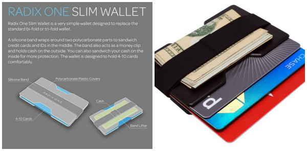 Radix One Slim Wallet Gift Idea for Men