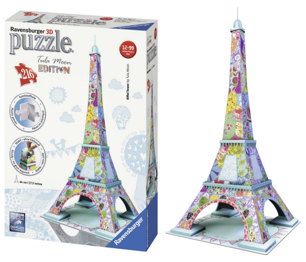ravensburger 3d puzzle eiffel tower instructions
