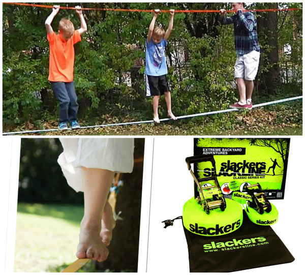 Slackers Slackline Great Gift Idea for Tween Boys