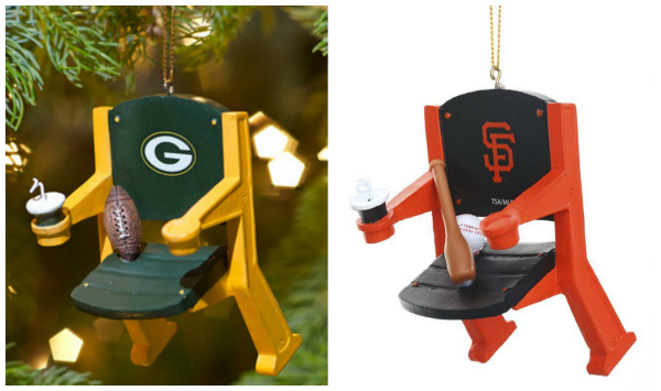 Stadium Seat Ornament Stocking Stuffer Idea for Men