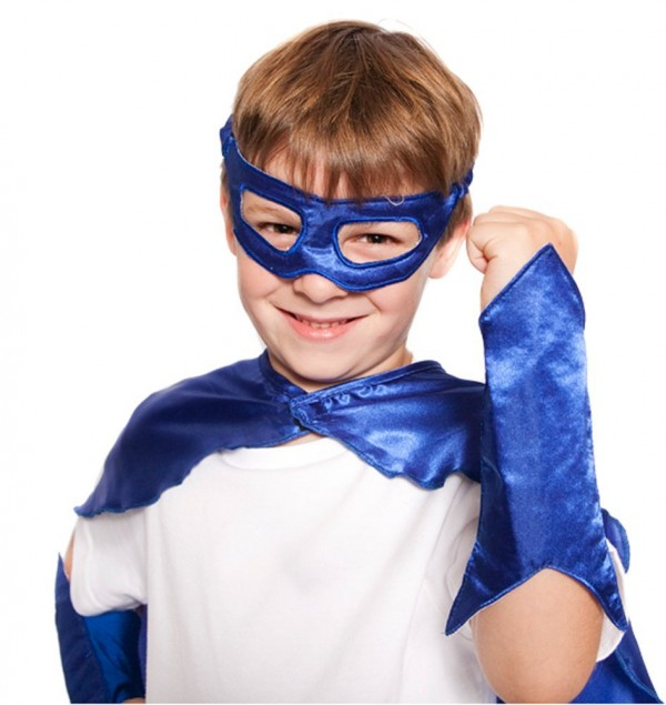 Superhero Eye Mask and Powerbands