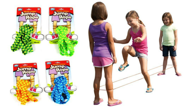 Toysmith Deluxe Chinese Jump Rope Stocking Stuffer for Girls