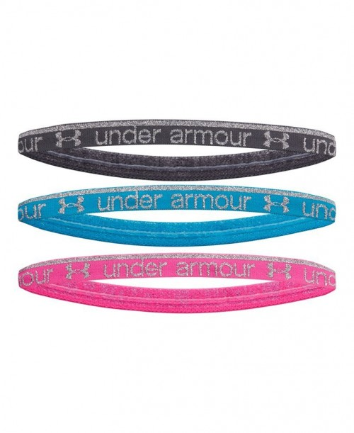Under Armour Silver Shine Headbands for Girls