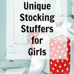Unique Stocking Stuffers for Girls