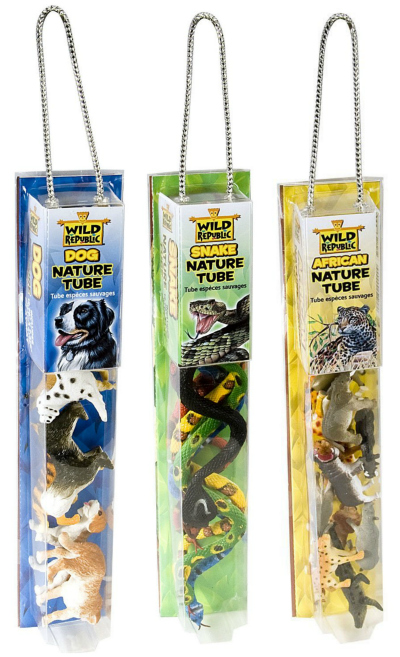 Wild Republic Animal Tubes Boys Stocking Stuffer Idea