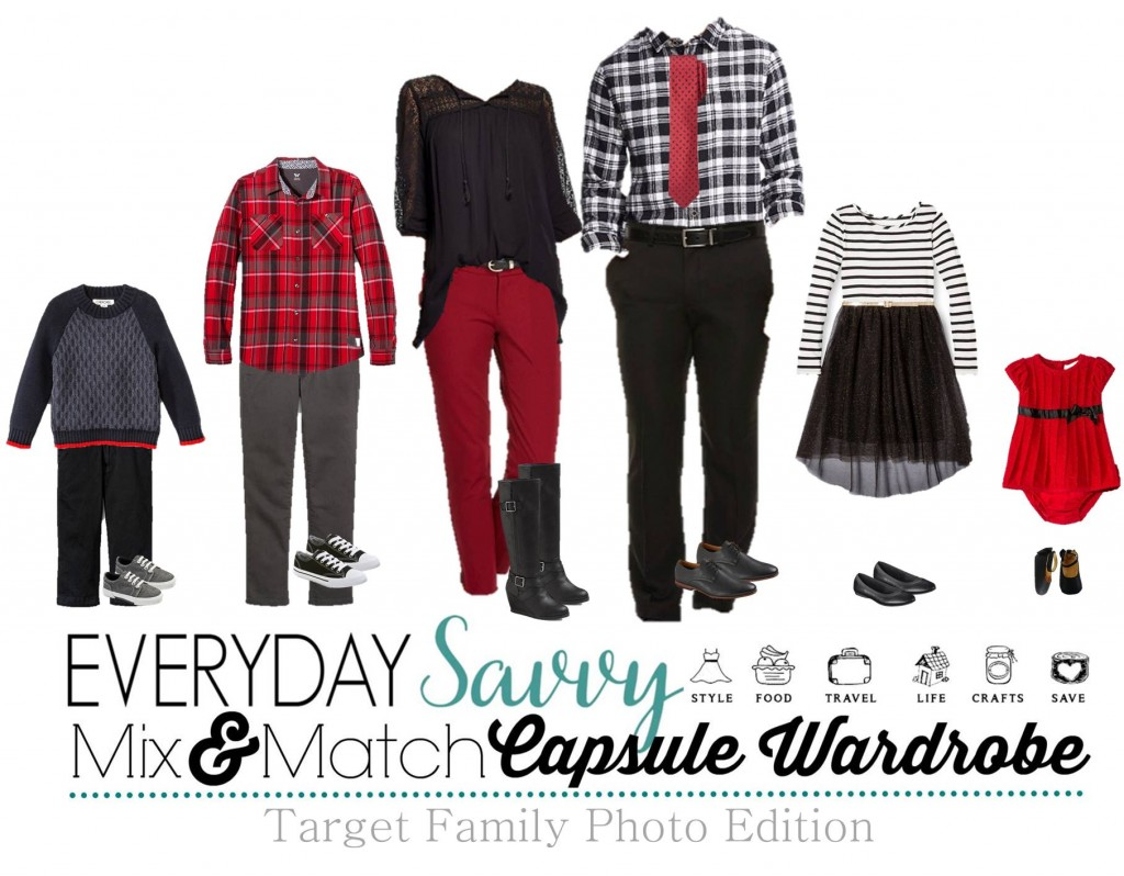 11.9 Capsule Wardrobe - Target Family Photo