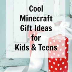 Cool Minecraft Gift Ideas for Kids and Teens