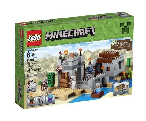 Minecraft Lego The Desert Outpost