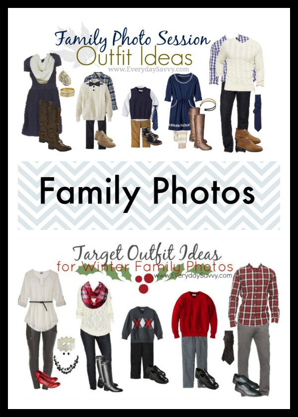 Coordinating Family Photo Outfit Ideas and Holiday Outfit Ideas. Ideas for the whole family!