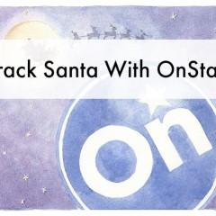 track santa with onstar