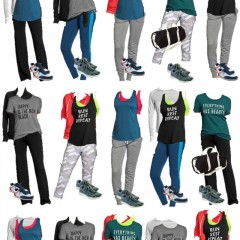 1.1 Old Navy Mix & Match Fitness Board VERTICAL MB