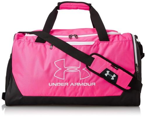 Under Armour Hustle Storm Pink Bag