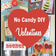 no candy valentine cards