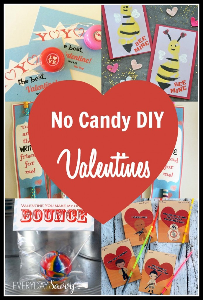 Crafts Everyday Savvy – Candy Valentine Card