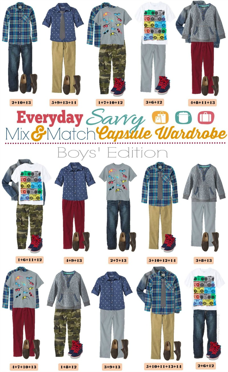 spring mix and match outfits for boys everyday savvy