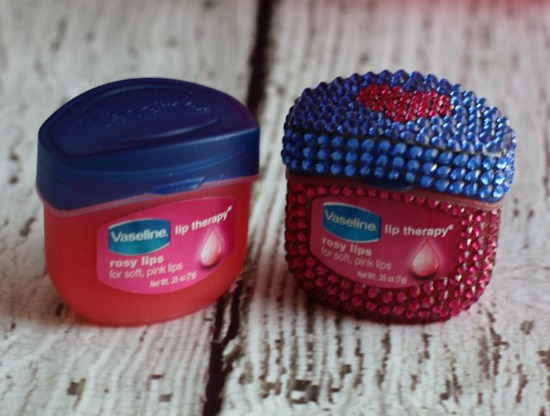 bling vaseline lip therapy