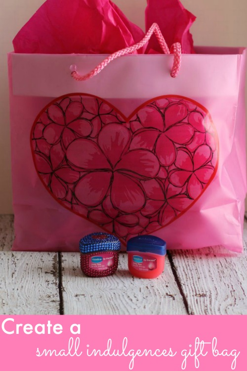 Small Indulgences Gift Bag - Perfect Frugal Valentine's Day Gift!
