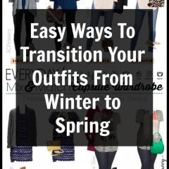 Easy Ways Transition Winter to Spring VERTICAL