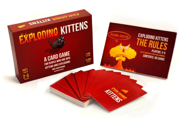 Exploding Kittens - Check out these cool Easter Basket ideas for tween boys. Lots of different no candy ideas at lots of price points.