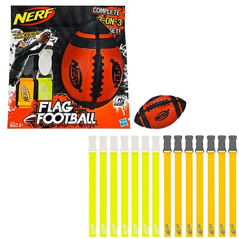 Nerf Flag Football 3 on 3 Set Gift Idea for Tween Boys