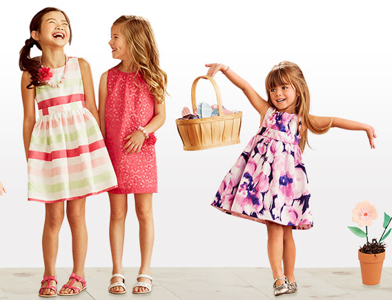 My Favorite Little Girls Easter Dresses