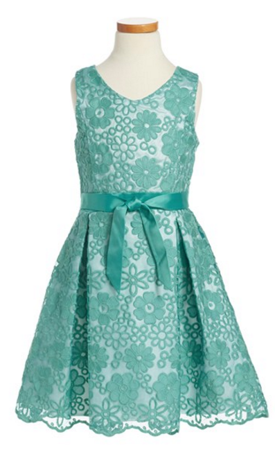 skater Easter dress - Who can resist adorable little girls easter dresses? Here are my favorite Easter dresses for little girls and older girls. Lots of price points.