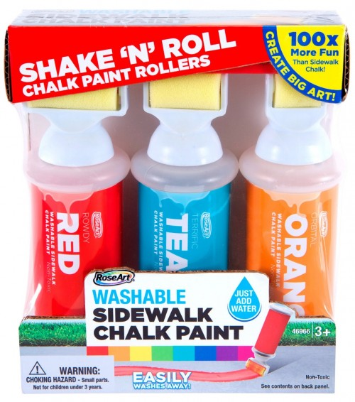 Shake N Roll Washable Sidewalk Chalk Paint