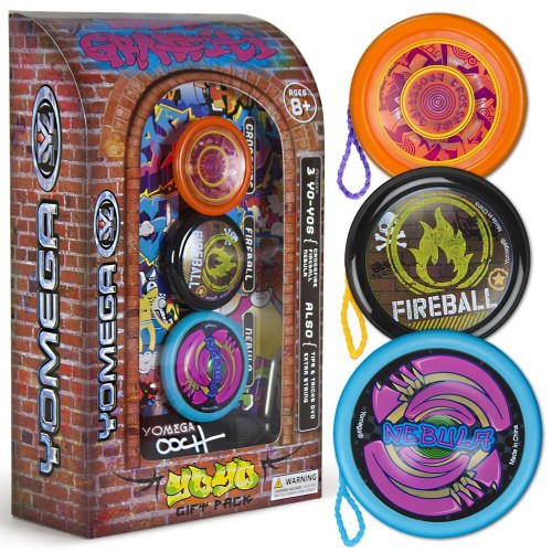 Yomega Urban Graffiti Yo-Yo Gift Set
