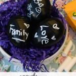 DIY Upcycled Chalkboard Easter Eggs